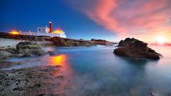Memories (FredConcha) Tags: caboraso lighthouse sunset lee fredconcha landscape cascais farol nature rocks portugal light reflexo