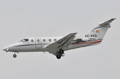 EC-KKD (LIAM J McMANUS - Manchester Airport Photostream) Tags: eckkd bizz gestair ges hawker beechcraft 400xp beechjet be40 bj40 beechjet400 manchester man egcc