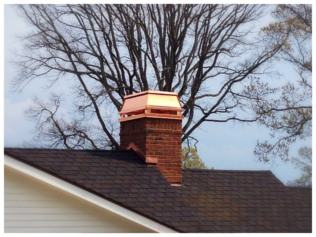 Barnhill Custom Chimney Top Shroud. Chattanooga, Tn.