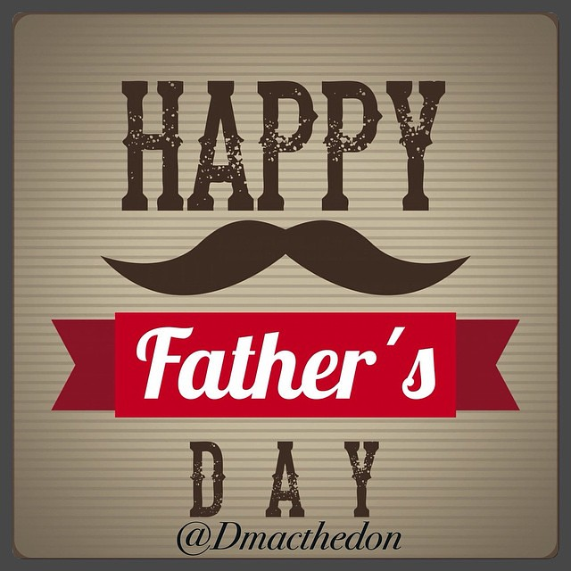 I would like to wish the MEN today a Happy Fathers Day! S/O to my dad and uncles and cousins and friends! Salute to you all and hope you guys or having a GREAT DAY! #daddyday #salute