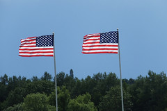 53rd BG Memorial Flags (Old Buck Shots) Tags: egsv ks keith sowter