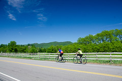 Biking, June 2015 (MWV Chamber of Commerce) Tags: biking westsideroad northconway