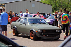 Swirly (Arturo Hurtado) Tags: low oldschool toyota mean lowered celica boti automotion battleoftheimports