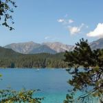 Der Eibsee unterhalb der Zugspitze (04) thumbnail