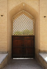 Fin Garden (blondinrikard) Tags: door garden arch iran portal fin kashan unescoworldheritage fingarden baghefin archess