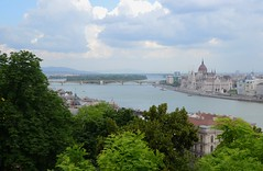 One more nice cityscape of Budapest (Alexei L) Tags: city bridge sky building architecture clouds river europe hungary cityscape capital budapest parliament danube cityview