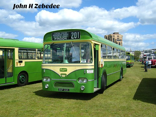 Preserved Southdown bus No. 122, registration No. BUF 122C.