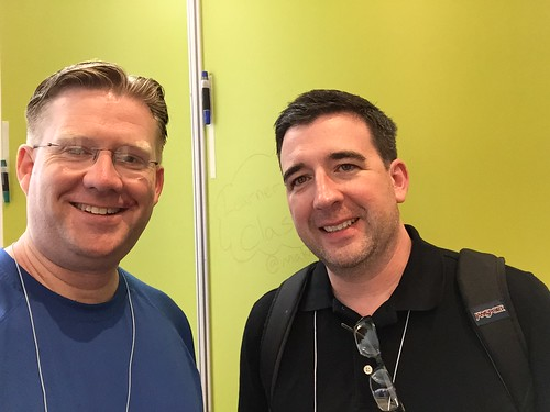 Ben Hartman and Wesley Fryer at ISTE 201 by Wesley Fryer, on Flickr