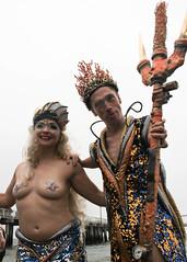 Queen Mermaid and King Neptune 2015 (slightheadache) Tags: nyc newyorkcity carnival sea party summer brooklyn fun parade celebration pirate mermaid coney mermaidparade seafaring julieatlasmuz 2015 matfraser brooklynian mermaidparade2015