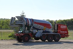 Dauphinais (88) (RyanP77) Tags: our truck spiral concrete dc mix support massachusetts cement mixer front ready mack troops sutton tanker bulk discharge terex dauphinais