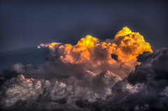 Golden Clouds (Klaus Ficker --Landscape and Nature Photographer--) Tags: sunset usa storm clouds canon kentucky burningclouds goldenclouds eos5dmarkii kentuckyphotography klausficker