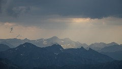 Les Pyrnes (Isabelle) Tags: panorama france montagne ciel nuages pyrnes midipyrnes picdumidi