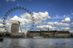 London-Eye-and-County-Hall-2 (FitzinCC) Tags: londonhdr