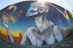 Hallucinogens (S.LAM Photography) Tags: california streetart art graffiti oakland paint graff paintonwalls