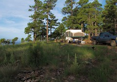 Outpost on the Rim (zoniedude1) Tags: camping arizona southwest nature beauty forest outdoors solitude 4x4 4wd adventure outback remote boonies wilderness exploration campsite mogollonrim highcountry cliffedge tenttrailer outdoorliving outinthewild apachesitgreavesnationalforest dispersedcamping sitgreavesnationalforest zoniedude1 asnf starcraft12rt canonpowershotg12 teepeeiii 7800ftelevation pspx6 bajatrailer 4wdexplorationsupportunit rimexpedition2015 ruggedterraintrailer outpostontherim edgylocation
