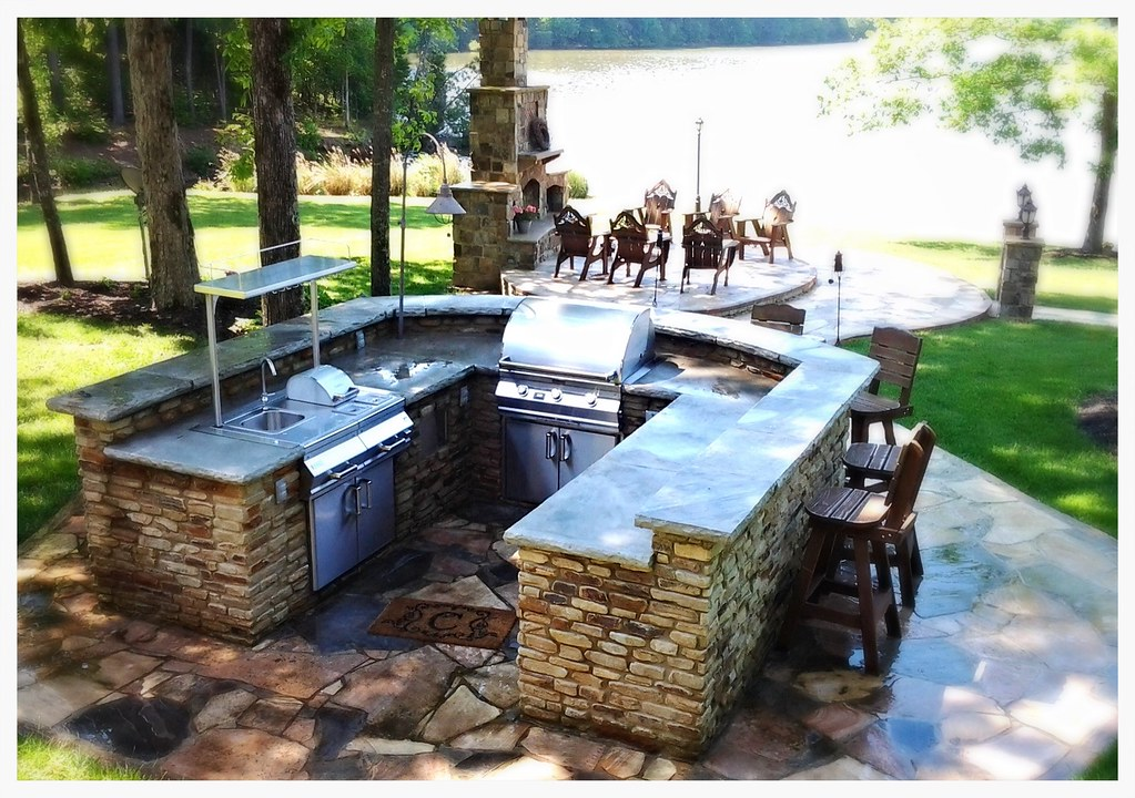 Custom Fire Magic Outdoor Kitchen, Spring City, TN