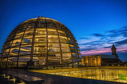 Robert Emmerich - 02 TSLE Time stack on top of the Bundestag in Berlin - Germany