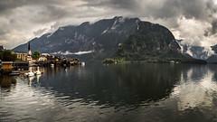 Lake Hallstatt Old Town Reflection