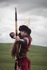 Eye to eye 2 (RKAMARI) Tags: armedforces army arrow event historical selçuklu show soldier turks warrior woman ~attribute ~concept ~gender ~profession ~what