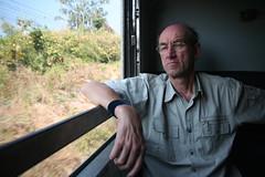 Me in a Thai train. (railasia) Tags: