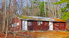 Closed For The Season. (Kris_wl) Tags: closed building abandoned boarded woods camp shack up barn forest camping
