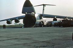 Lockheed C-5 Galaxy 90103 U.S.A.F. (EI-DTG) Tags: planespotting aircraftspotting 23may1978 usaf unitednations galaxy c5 90103 lockheed dublinairport dub eidw collinstown unifil