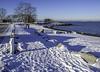 A Change from Spain (Tony Tomlin) Tags: crescentbeach crescentbeachbc snow mountains beach bc britishcolumbia