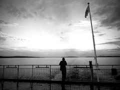 Looking back... (-Aldievel-) Tags: spalato travel blackandwhite boat sea monochrome seaside croatia split trip mare croazia biancoenero adriatico nave hrvatska vacanza viaggio traghetto balcani
