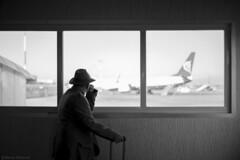 Rome Ciampino Airport (marcel.roentzsch) Tags: blackandwhite bw airport flughafen rome roma ciampino melancholie melancholy fernweh träumen dreaming