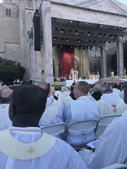 Seminarians attend Canonization Mass of Junipero Serra at National Shrine of Immaculate Conception - September 2015