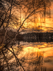 Reflexions at sunset (Steppenwolf33) Tags: reflektionen reflexions sunset sonnenuntergang steppenwolf33