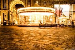 Carousel (PinoShot) Tags: carousel florence firenze carosello piazza repubblica italy italia horsemen cavalli giostra musica lights night city joy panchina bench