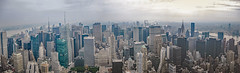 Manhatten Skyline from Above (chrisar676) Tags: canon canondigitalixus85is canonixus85is eastriver hudson hudsonriver manhatten newyork panorama skyline usa skyscraper
