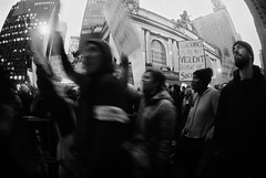 March Together, Right Now. (jonathanbriu) Tags: womensmarchnyc film protest nyc 16mm fisheye