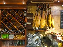 Wine and ham, its everywhere!