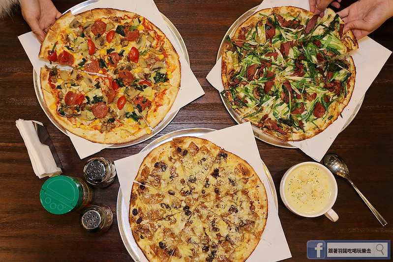 愛翻派美式Pizza店南港124