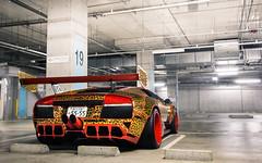 Because Japan. (Alex Penfold) Tags: lamborghini murcielago liberty walk supercars supercar super car cars murci leopard print alex penfold 2016 japan tokyo