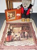 More bloomin' culchur (pefkosmad) Tags: jigsaw puzzle complete hobby leisure pastime art painting 900pieces interior scene pieterdehoogh pieterdehooch awomandrinkingwithtwomen tedricstudmuffin teddy bear ted cute soft stuffed toy plush fluffy dutch