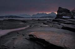 Oldervik I (strupert) Tags: polarizer lee nikon seascape ice snow sunrise cold winter alps lyngen oldervik tromsø norway