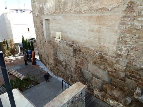 Wall of the temple of Diana at Seguntum_Sagunto  (