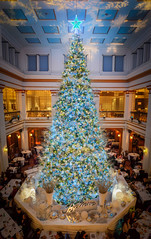 The Last hoorah! (Explored) (Geoff Eccles) Tags: christmastree illinois macys believe chicago walnutroom christmas marshallfields