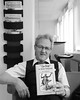 Orvar 2017-01-03 (Michael Erhardsson) Tags: sj personal porträtt svartvitt på jobbet 2017