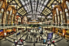Liverpool Street Station (WilliamBesse) Tags: hdr london liverpool st street station sigma uk train urban escape exploration crowd people