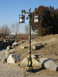 Old fashioned lamppost