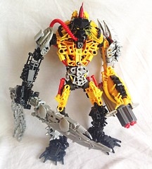 Old Good Bionicle: Hewkii (Shogoki Shinkyardo) Tags: bionicle moc remake