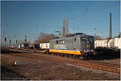 DSC_0129 (Berliner_77) Tags: trainspotting mainzbischofsheim eisenbahn railway güterverkehr baureihe 151 027 hectorrail 162 003 metropolis