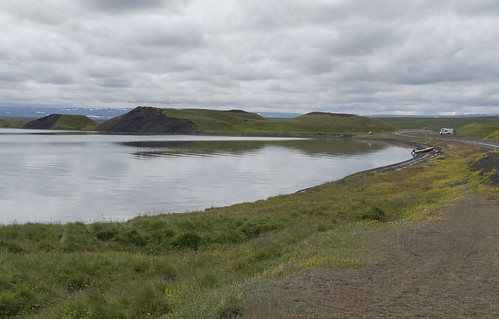 Shore of Lake Mývatn, 13.07.2016.