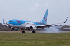 TUI - Boeing 737-8K5/W G-TAWD @ Cardiff Rhoose (Shaun Grist) Tags: tui gtawd boeing 737 shaungrist cwl egff cardiff cardiffairport cardiffrhoose rhoose wales airport aircraft aviation aeroplanes airline avgeek