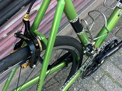 henrys-ant-road-bike-6-2015-10 (henry in a'dam) Tags: life road columbus green bike race steel ant racing retro henry custom fiets flanigan cannonade staal racefiets trp stalen workcycles