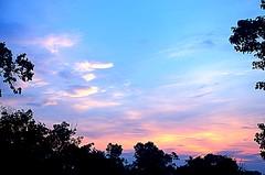My Sunrise (robertd_herrera) Tags: morning blue sky orange nature clouds sunrise outside outdoors nikon d7000